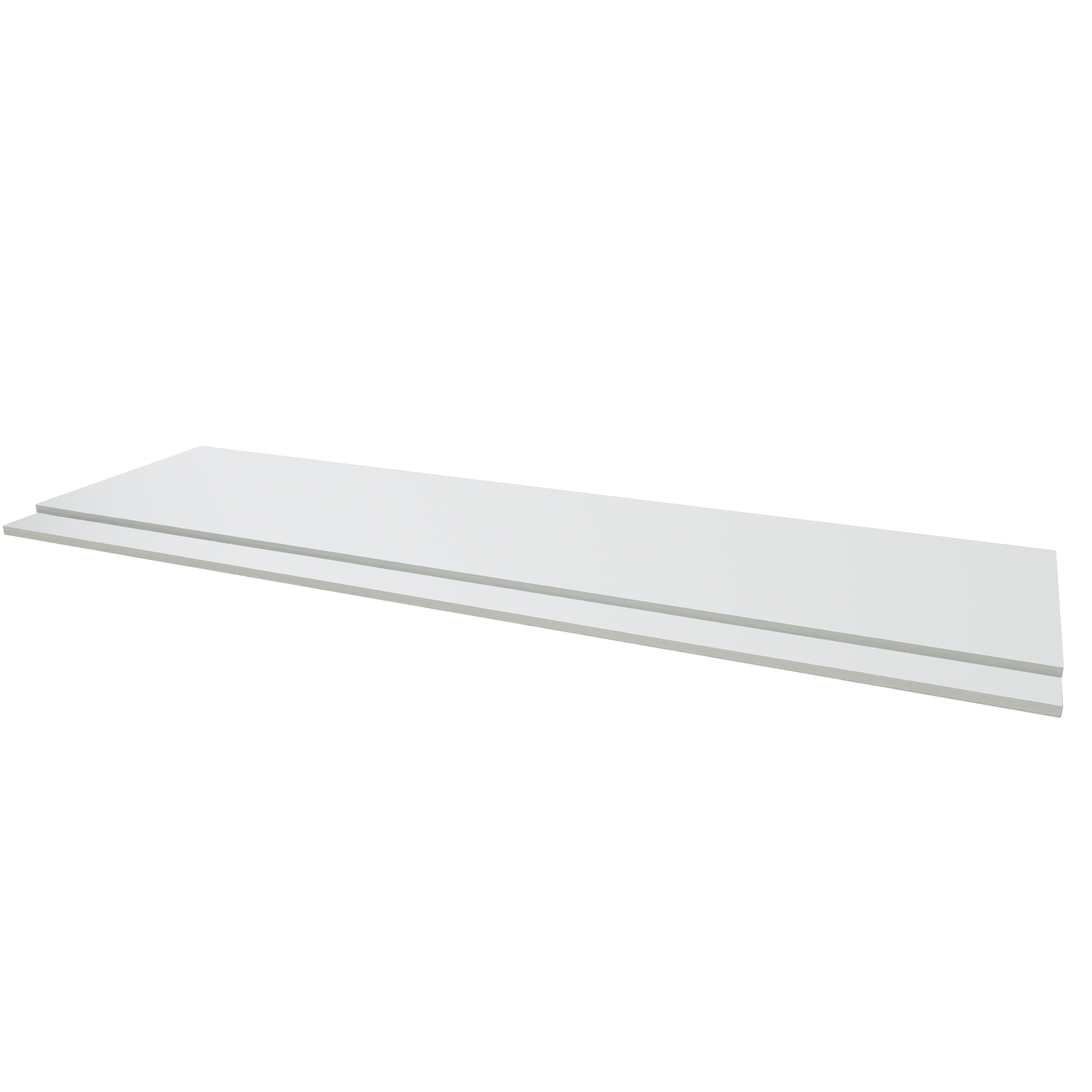 Purity White 1700mm bath panel