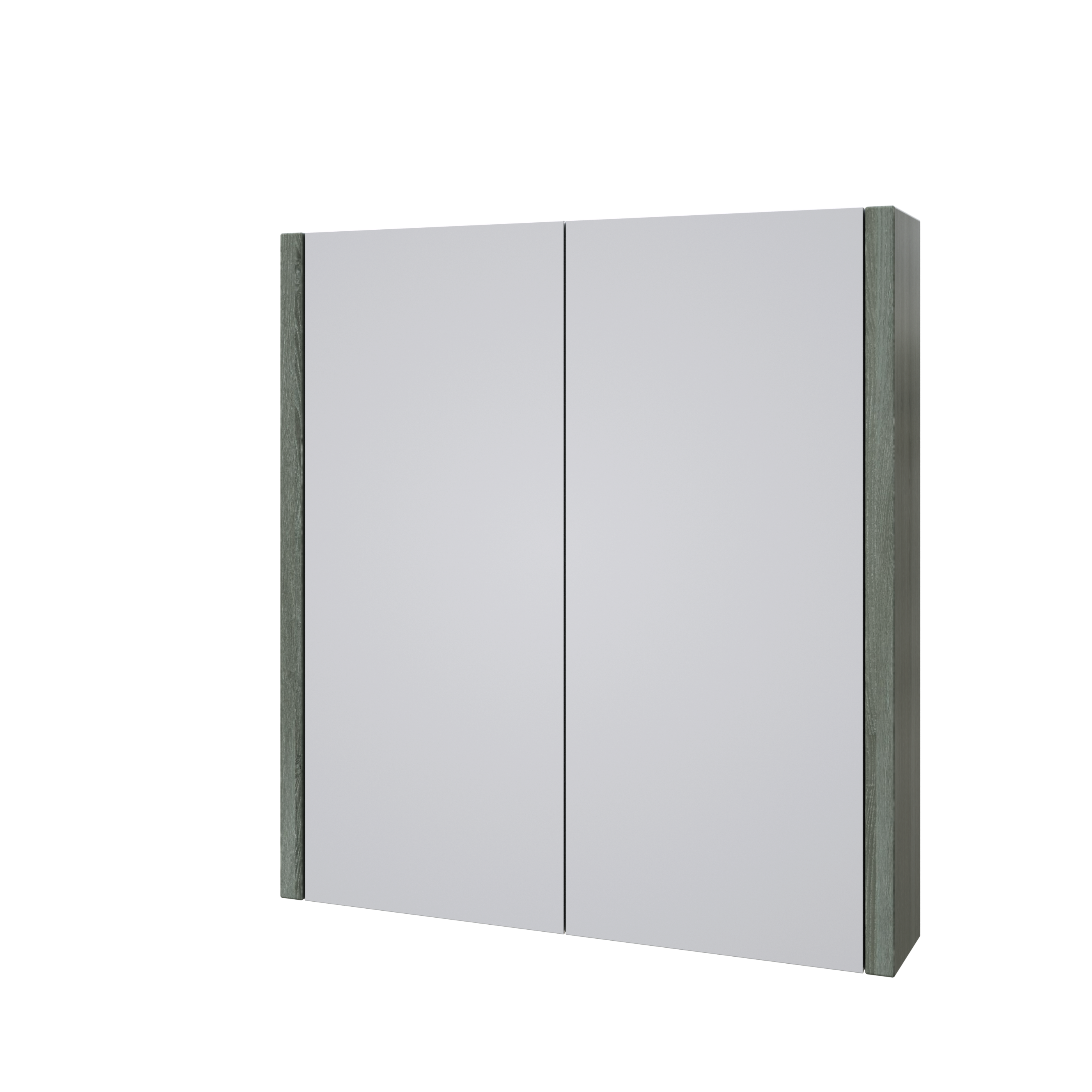 Purity 600mm Mirror Cabinet Grey Ash